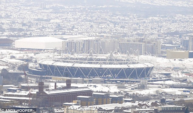 Olympic site: Hopefully the weather will warm up a bit by the 2012 Games