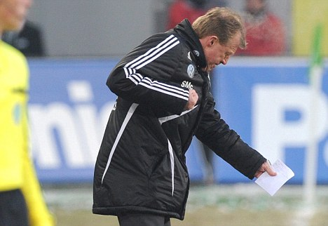 Relief: Steve McClaren is facing a fight to save his job