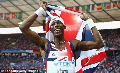 Staying at home: World champion Phillips Idowu withdrew earlier this week