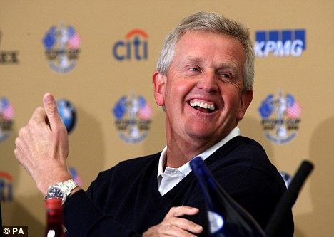 All smiles: Monty has the potential to forge a winning team spirit