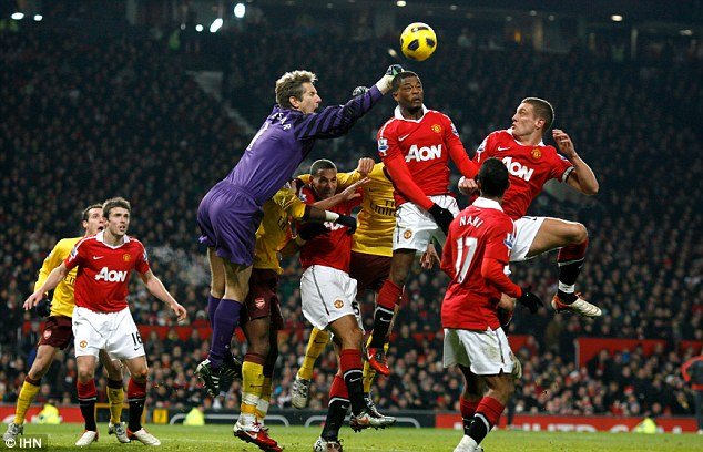 Outgoing: Van der Sar is set to announce he will retire at the end of the season