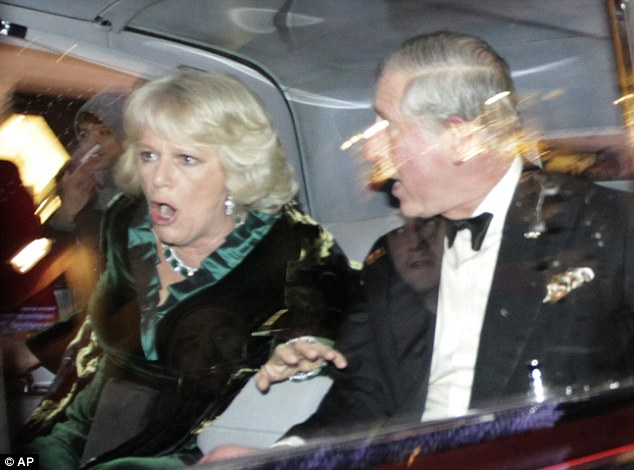 A review of security for the Royals was ordered after Prince Charles and Camilla's car was attacked by protesters