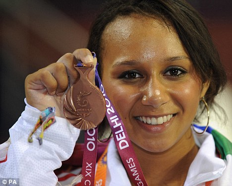2012 hope: Smith won bronze in this year's Commonwealth Games