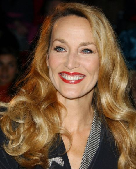 Jerry Hall: Has her own distinctive brand of off-beat elegance