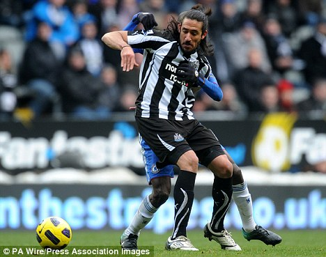 Warning: Gutierrez has promised his pals a tough test on Tyneside