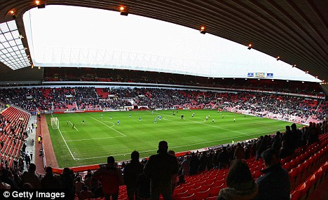 Roll up: Bruce fears dwindling attendances at the Stadium of Light could hit his budget hard