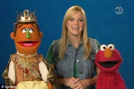 Guest star: Anna follows the likes of Katy Perry and Jennifer Garner who have both appeared on the hit kids TV show