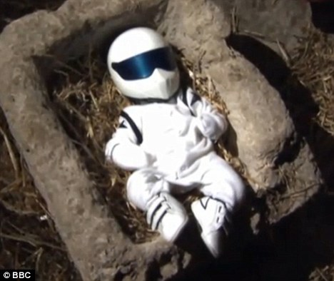 Just good fun... or offensive? Yesterday it was Muslims, today the Top Gear presenters are under fire from Christians who say that depicting the new Stig as Baby Jesus was an insult to Christianity
