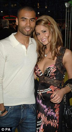 Divorced: Chelsea's Ashley Cole split from X Factor judge Cheryl in February after tabloid claims of his infidelity