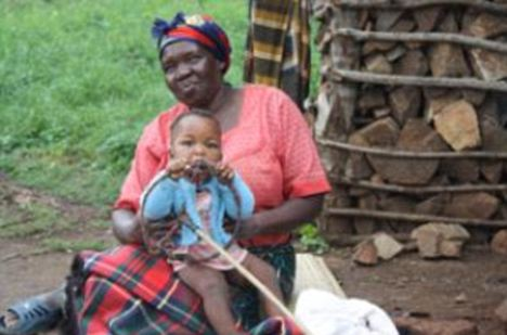 Young Phiwokwakhe Hlophe is now being cared for by his grandmother