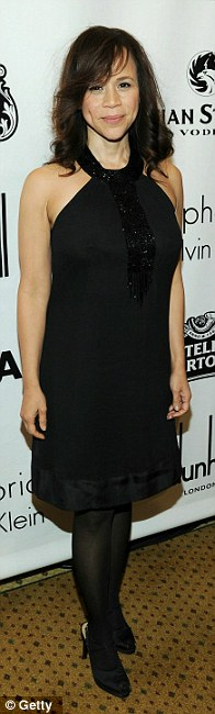 Lovely: Rosie Perez, Annette Bening and Sarah Steele also attended the 20th Gotham City Awards in New York