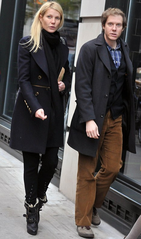 What a gent! Gwyneth Paltrow stepped out in New York last night with younger brother Jacob Paltrow