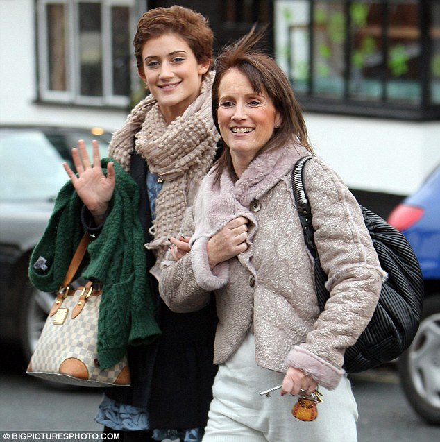 That's my girl!: Katie catches up with her mother Diana for lunch after her day of breakfast television