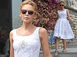 PORTOFINO, ITALY - JULY 13:  Kylie Minogue is seen on July 13, 2015 in Portofino, .  (Photo by Photopix/GC Images)