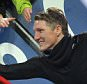 epa04842361 FILE?- A file picture dated 13 December 2014 shows Munich's Bastian Schweinsteiger as he celebrates with fans after the German Bundesliga soccer match between FC?Augsburg and FC?Bayern Munich at the SGL-Arena in Augsburg, Germany. Germany captain Bastian Schweinsteiger is leaving Bayern Munich for Manchester United, Munich chairman Karl-Heinz Rummenigge confirmed 11 July 2015.  EPA/STEFAN?PUCHNER