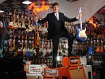 fmos3 GEAR4MUSIC.COM: FOUNDER AND CEO ANDREW WASS IN THE SHOWROOM'S OF THEIR YORK HEADQUARTERS.©RUSSELL SACH - 0771 882 6138