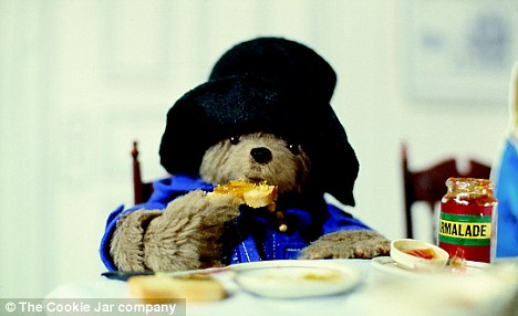 Marmalade fan: Paddington Bear needs to rally troops to get people eating the breakfast staple again