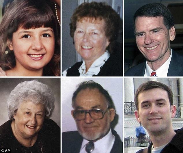 Victims: Christine Green, Dorothy Morris, U.S. District Judge John Roll, Phyllis Schneck, Dorwin Stoddards and Gabriel Zimmerman were killed during the gun massacre last week