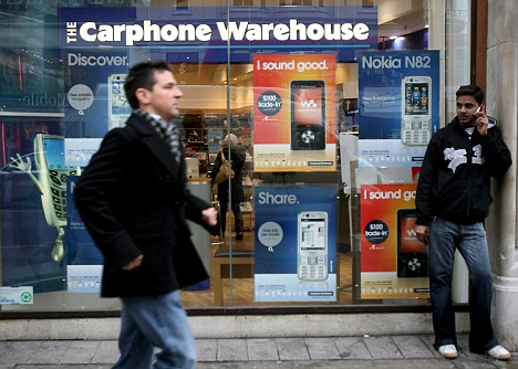 Rising costs: The VAT increase could take annual mobile phone bills to over £1,000 a year