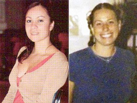 Diabetes sufferer Alini Brito, left, says colleague Cindy Mauro was just giving her sugar to treat her condition when they were spotted lying together, partially clothed, on the floor of a classroom