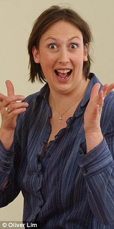 Fed up: Miranda Hart has said that she no longer reads reviews due to the remarks about her weight and looks
