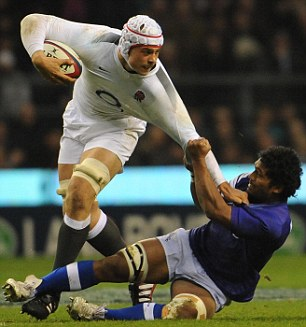 Suspended: But Dave Attwood is in the England Saxons squad