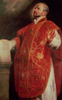 Founder of the Jesuits, St. Ignatius of Loyola. Source: Wikimedia Commons