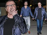 ***MINIMUM FEE £500 PER IMAGE*** EXCLUSIVE: George Michael seen out and about with his boyfriend, Fadi Fawaz in Zurich, Switzerland.