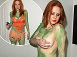 "Maitland Ward is covered in green make-up for her ""Orion Slave Girl"" costume for San Diego Comic-Con.\n\nPictured: Maitland Ward\nRef: SPL1076386  110715  \nPicture by: Splash News\n\nSplash News and Pictures\nLos Angeles: 310-821-2666\nNew York: 212-619-2666\nLondon: 870-934-2666\nphotodesk@splashnews.com\n"