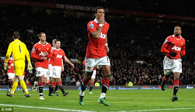 Still top: Nani is one of Manchester United's top entertainers