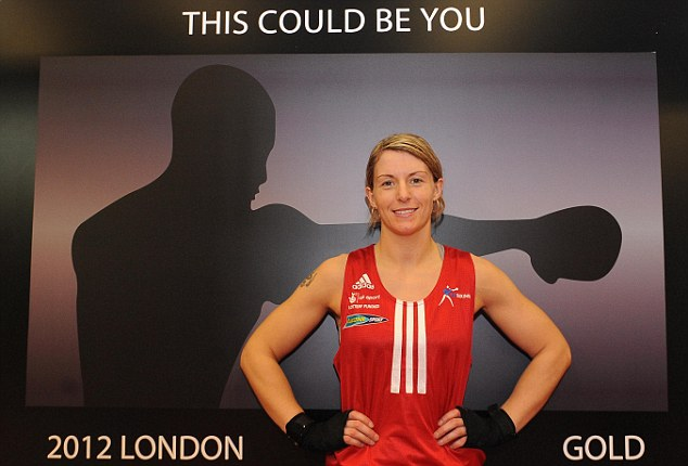 Girl power: Olympic prospect Amanda Coulson will be hoping to make the cut