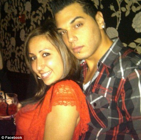 Romantic date: Gerard Honig had planned to take his girlfriend Yelena Bulchenko out for a Valentine's Day dinner
