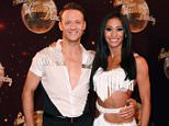Mandatory Credit: Photo by David Fisher/REX Shutterstock (4090245aq)  Kevin Clifton and Karen Hauer  'Strictly Come Dancing' TV series launch, Elstree Studios, Hertfordshire, Britain - 02 Sep 2014