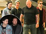 Los Angeles, CA - Luke Hemmings, Michael Clifford, Calum Hood and Ashton Irwin from 5 Seconds of Summer make their way through Los Angeles International Airport.\n AKM-GSI July 10, 2015\n \n To License These Photos, Please Contact :\n \n Steve Ginsburg\n (310) 505-8447\n (323) 423-9397\n steve@akmgsi.com\n sales@akmgsi.com\n \n or\n \n Maria Buda\n (917) 242-1505\n mbuda@akmgsi.com\n ginsburgspalyinc@gmail.com