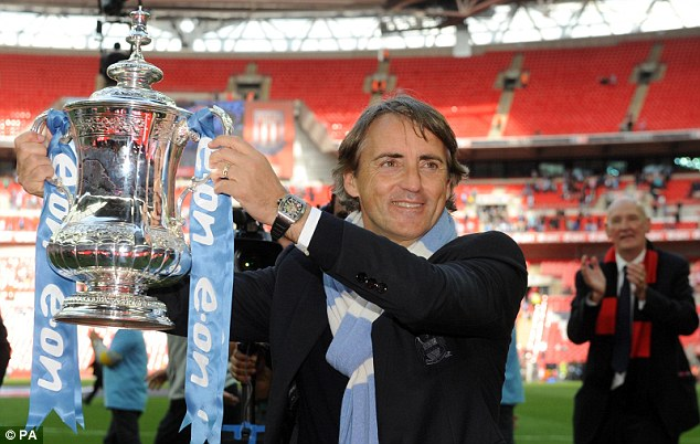 First step: Roberto Mancini wants to build on Manchester City's FA Cup success