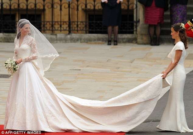 All eyes on Pippa: It was Kate's big day, but Pippa who became an internet sensation for her figure-hugging dress