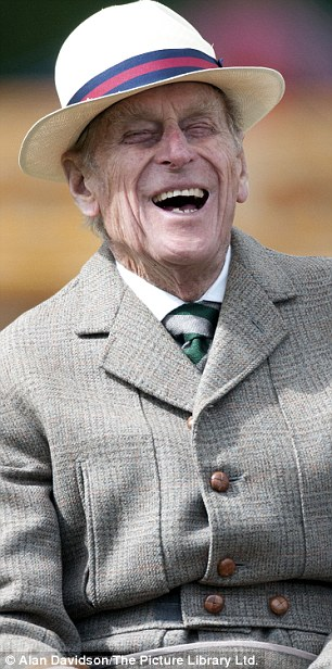The time of his life: There's nothing Prince Philip enjoys more than taking the reins of a carriage