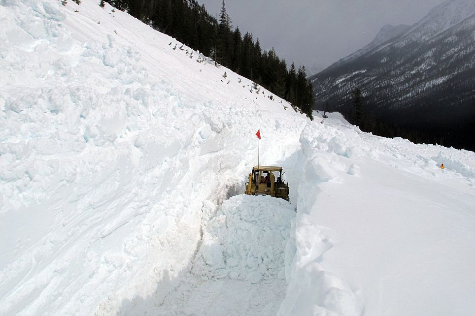 Undercover: The North Cascade Highway in Washington State is still closed to traffic for over 40 miles after 75-ft of snowfall