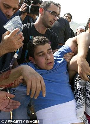 Israel clash