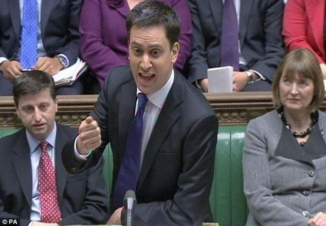 Labour party leader Ed Miliband told David Cameron he was 'arrogant' for ignoring the concerns of doctors and nurses at PMQs today
