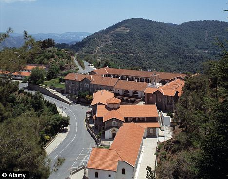 Punishment: The monk has been suspended from the Kykkos Monastery for leaving the residence without permission