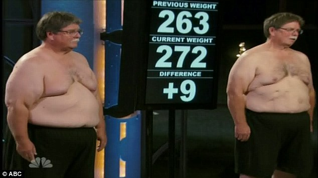 A first: Twin brothers Dan and Don GAINED 9 pounds each, a total of 18 pounds