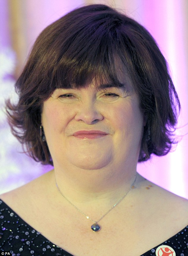 Threats: Susan Boyle has revealed how she was forced to call in the police after receiving a series of 'frightening' phone calls