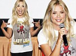 LOS ANGELES, CA - JULY 12:  Actress Ashley Benson arrives at BeautyCon and Ashley Benson Host A Special Screening of PIXELS on July 12, 2015 in Los Angeles, California.  (Photo by Rich Polk/Getty Images for Sony Pictures Entertainment)