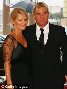 Secret splits: When Hurley and Warne's romance was first reported - neither had gone public with their splits from their respective spouses Arun Nayar and Miss Callahan