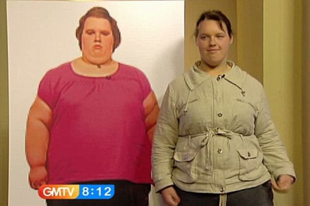 Georgia was so delighted with her weight loss in 2009 that she shared her story on GMTV. However, she was unable to keep a healthy regime going