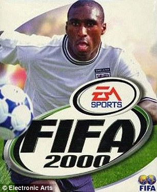 England international Sol Campbell was the face of FIFA 2000