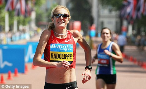 Indifferent: Paula Radcliffe has had a difficult year on the competition circuit