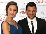 Caudwell Children Butterfly Ball 2014 held at the Grosvenor Hotel - Arrivals Featuring: Peter Andre, Emily MacDonagh Where: London, United Kingdom When: 15 May 2014 Credit: Lia Toby/WENN.com
