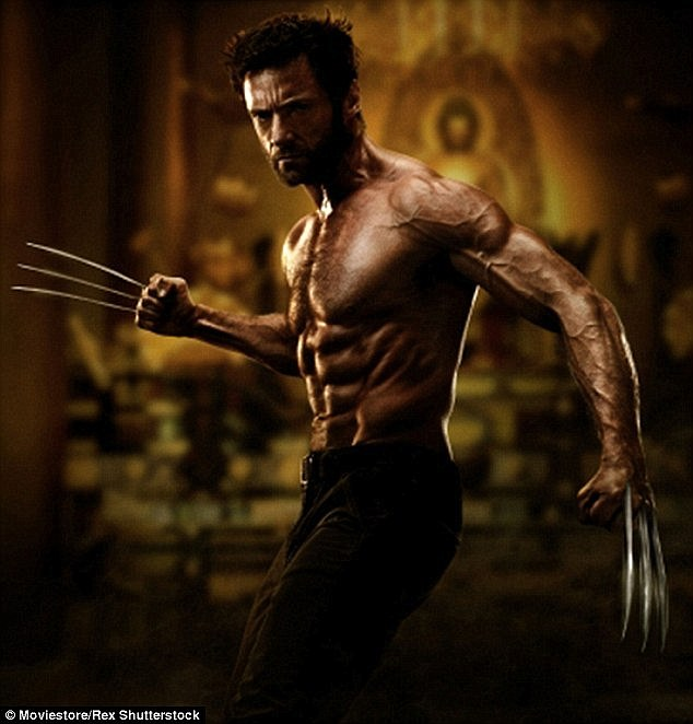 Bold claim: Dwayne then explained that Jack ran over Hugh in one of the Wolverine films - and then claimed 'I am tougher than Hugh Jackman!'